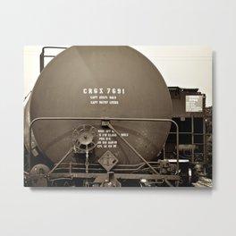 The Depot Metal Print