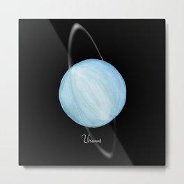 Uranus #2 Metal Print