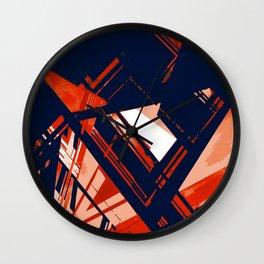 Static1, rwb Wall Clock