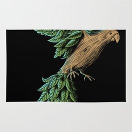 Wood Bird Rug