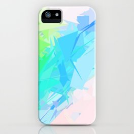 Island Paradise Pastel Abstract iPhone Case