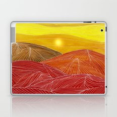 Lines in the mountains IX Laptop & iPad Skin