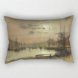 John Atkinson Grimshaw - Whitby Rectangular Pillow
