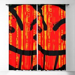 Cowboy Bebop Hacked Smile Blackout Curtain