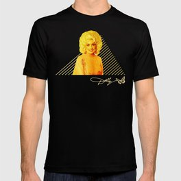 Dolly Parton Retro Gold T-shirt