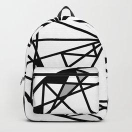 Diamond - round cut geometric design Backpack