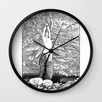 apollonia Wall Clocks featuring asc 546 - Le sacrifice cyclique (The recurring sacrifice) by From Apollonia with Love