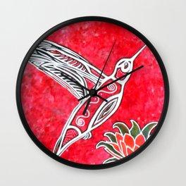 Tiny Thunderbird Wall Clock