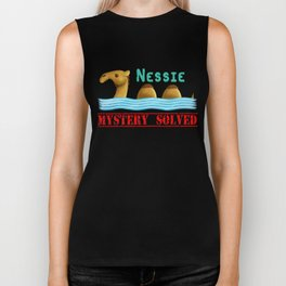 Nessie was a camel or so Biker Tank