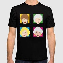 The Golden Girls, Betty White, Bea Arthur, Rue McClanahan, Estelle Getty T-shirt