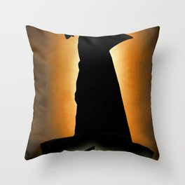 Shark Knight Throw Pillow