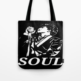 """James Brown """"The Godfather Of Soul"""" Tote Bag"""