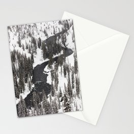 Yellowstone National Park - Lewis River Stationery Cards
