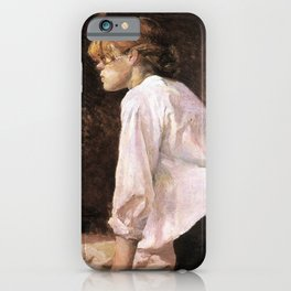 The Laundress by HT-L iPhone Case