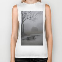 fog Biker Tanks featuring Fog  by ShannPhoto15