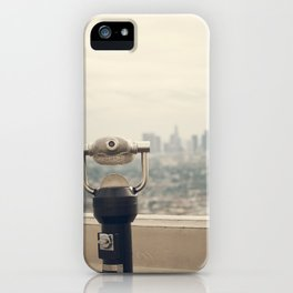 The View: Los Angeles iPhone Case