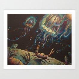 """""""Light Show"""" Art Print"""