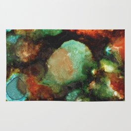 Geode II, Malachite Rug