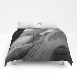 Canyon (Black and White) Comforters