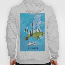 Europe Map Hoody