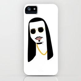 Gangster Jesus Classy Never Trash You Little Nasty iPhone Case
