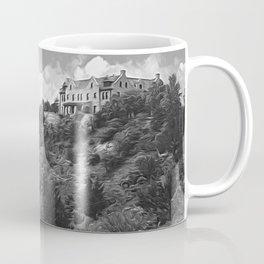 Ha Ha Tonka-Black and White Strokes Coffee Mug