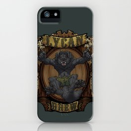 Lycan Brew iPhone Case