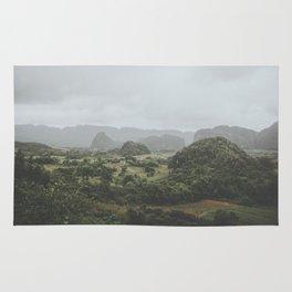 Viñales Valley, Cuba Rug