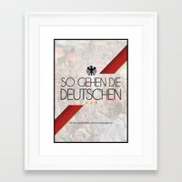 germany Framed Art Prints featuring Germany by liamhohoho