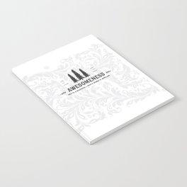 Awesomeness Notebook