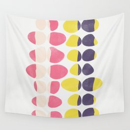 Painted Pebbles 3 Wall Tapestry