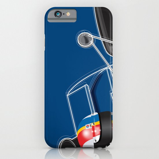 François Cevert, Tyrrell 003, 1972 iPhone & iPod Case