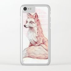 Vulpes Vulpes Clear iPhone Case