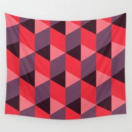 Queen of Hearts [isometrix 013] Wall Tapestry