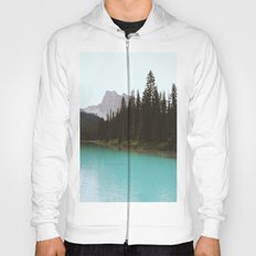 Peaceful Landscape At Yoho National park II Hoody