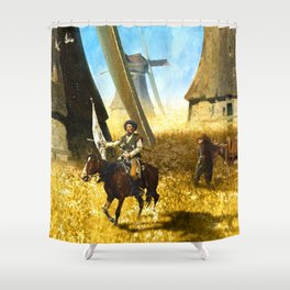 Giants on the Plains Shower Curtain
