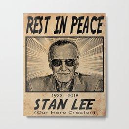 Uncle Stan Metal Print