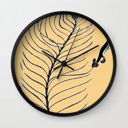 Dream Tree (also known as Narrow Leaf Fuschia or Native Fuchsia - Eremophila alternifolia Wall Clock