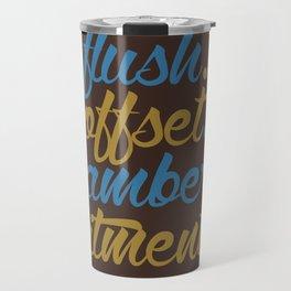 flush offset camber fitment v7 HQvector Travel Mug