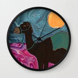 A Ca-Mel Named Lili Wall Clock