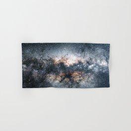Milky Way Galaxy Stars Night Sky Hand & Bath Towel