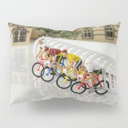 little world bike racing Pillow Sham