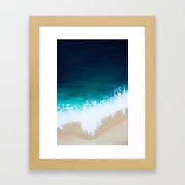 Sea Below Framed Art Print