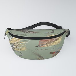 Fly fishing with hand tied lures! Fanny Pack