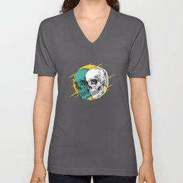 Skull Set Best Gift Unisex V-Neck