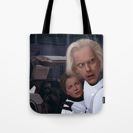 I Find Your Lack Of Jiggawatts Disturbing Tote Bag