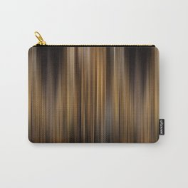 Elegant Gold Stripes Pattern Theater Cinema Curtain Background Carry-All Pouch