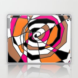 Scribble Art - A Spiral Mess Laptop & iPad Skin