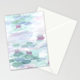 Monet Lily pads Stationery Cards