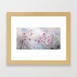 Rose Meadow Framed Art Print